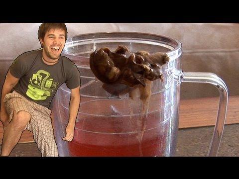 Poop In A Cup