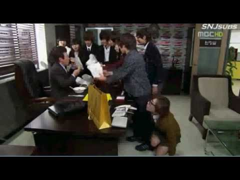 BOYFRIEND Kwang Min, Young Min and Min Woo MBC All My Love CUT Scene