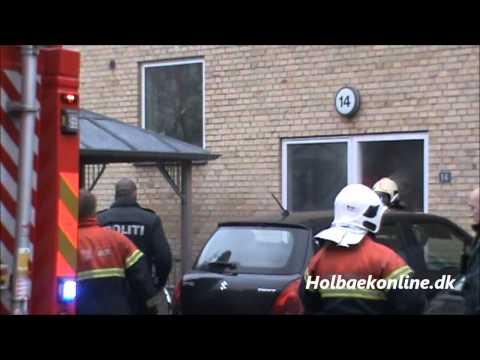 Brand i lejlighed på Borchsvej