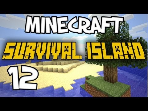 "Minecraft - ""Survival Island"" Part 12: DAN SMELLS SH..."
