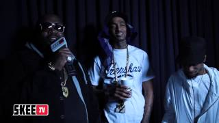 Rockie Fresh ft Rick Ross & Nipsy Hussle : Life Long [BTS]