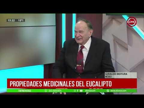 El Doctor Motura habló sobre las propiedades medicinales del eucalipto