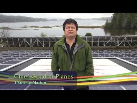BC First Nation's solar photovoltaic project cut energy use by 75%