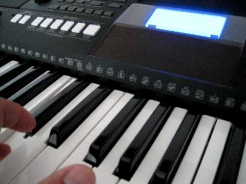 The Sound Of Yamaha PSR E423 Keyboard