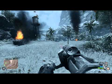 Crysis Warhead PC Gameplay GTX 580 (Ice Level)