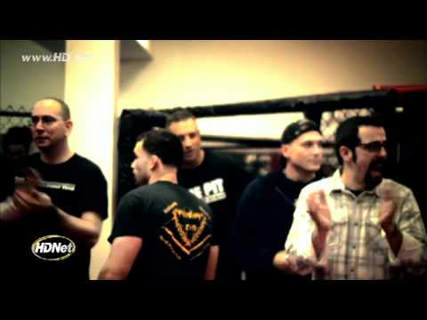 [UPDATED] One-armed fighter Nick Newell talks with Ron Kruck prior to his fight at XFC 15