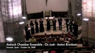 Antioch Chamber Ensemble - Os Justi - Anton Bruckner view on youtube.com tube online.