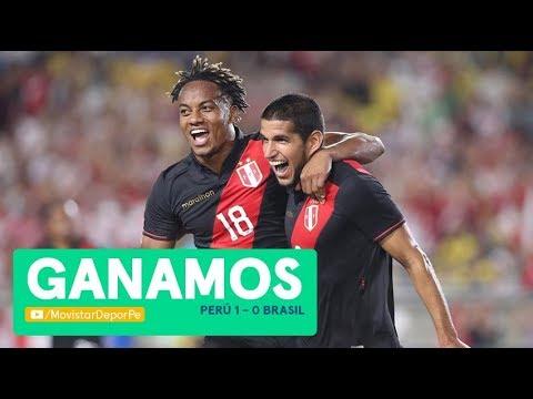 REVIVE EL TRIUNFO DE PERÙ CONTRA BRASIL