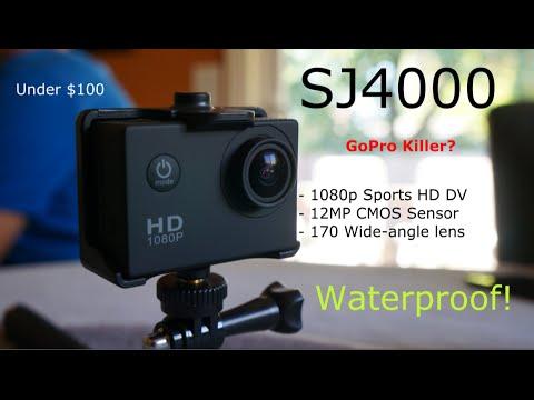 SJ4000: Sports Camera - GoPro Alternative Review