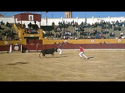 """Concurso de recortadores Alagón 19/03/2011 - David Lago y Diego Higueras """"Chipu""""."""