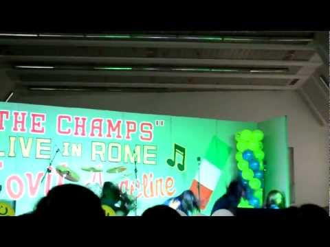 Lucky 7 at Jovit Baldivino & Angeline Quinto live concert at Ergife Palace Hotel in Rome, Italy