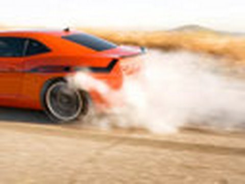 Smokin Camaro: Hennessey HPE550 Supercharged Chevy Camaro SS
