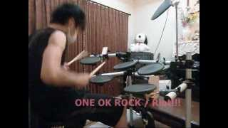 ONE OK ROCK**Riot!!![叩いてみた] drum cover