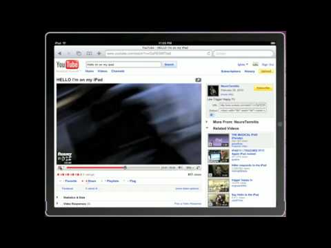 www.ipadevice.com | ispazio | html5 ipad support on youtube