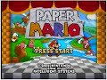 Paper Mario- Title Screen
