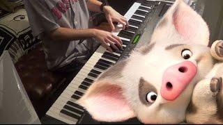 Moana - How Far I'll Go (Piano Solo)