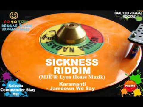 Sickness Riddim Mix [June 2012] [Mix July 2012] Maria Jackson Entertainment & Lyon House Muzik