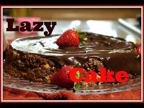No Bake Royal Chocolate Biscuit Nutella Cake
