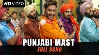 Action Jackson - Punjabi Mast Official Song
