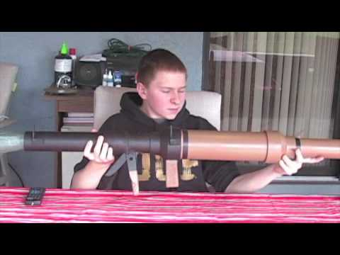 Homemade Airsoft RPG-7 Style 40mm Grenade Launcher (Part 1)