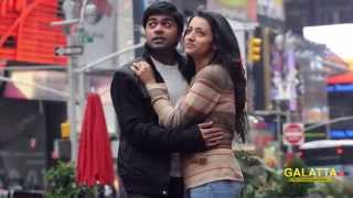 Watch STR, Trisha photo shoot for Selvaraghavan's film Red Pix tv Kollywood News 02/May/2015 online