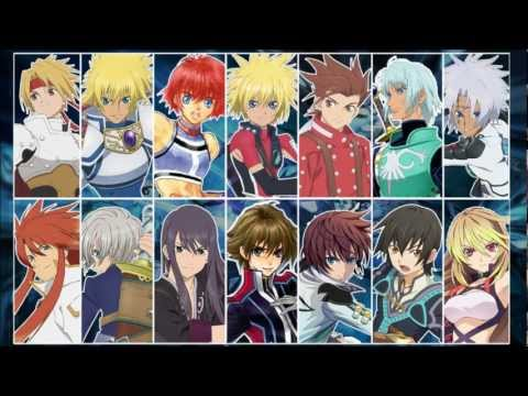 Tales of - All First Battle Themes