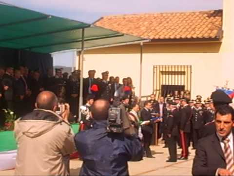 Inaugurazione Caserma dei Carabinieri di Novalba di Cardinale - Consegna Bandiere
