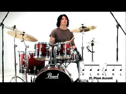 Pearl Drum Rudiments - Flam Accent