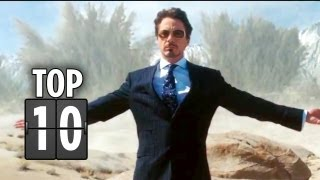 Top Ten Tony Stark Quotes - Iron Man Movie HD