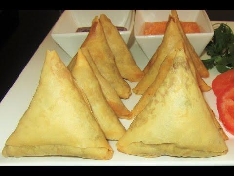 Meat Samosa Recipe  In English