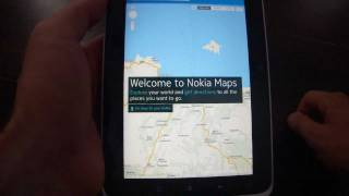 HTC Flyer and HTML5 Nokia maps | pestaola.gr