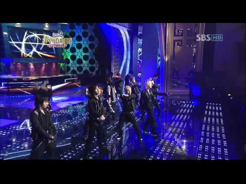 Super Junior - Don't Don live performance (Sept. 28, 2007 SBS Korea Sparkling)