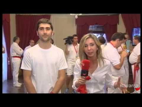 Retransmisión Chupinazo 2014 San Fermín 6 julio 2014 parte 2 Gracias a Navarra TV