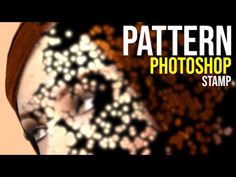 How to use pattern stamp tool in Photoshop (CS5 CS4 CS3 CS2 etc) tutorial