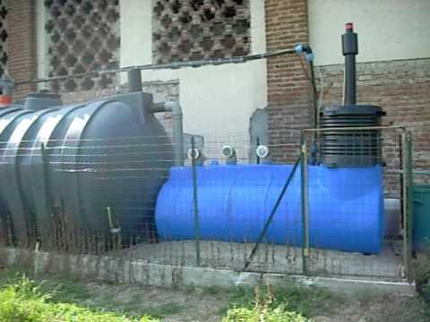 Primo impianto depurazione acque reflue domestiche AR800 Clewer