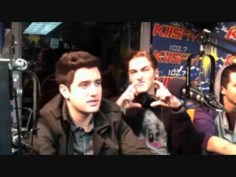 Big Time Rush USTREAM with JoJo January 12, 2012--PART 1