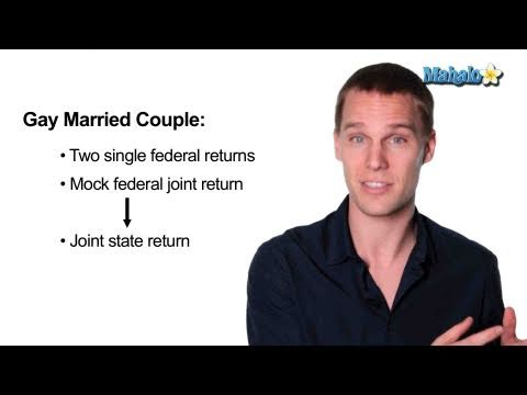 How to File Taxes as a Gay Married Couple