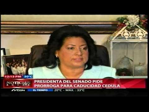 Cristina Lizardo pide a JCE extender plazo de…