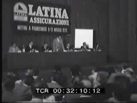 Meeting di assicuratori sul Gargano,Pugnochiuso,Istituto Luce 1973