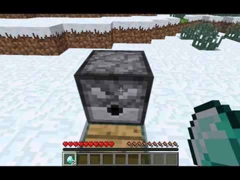 How  to make a working Minecraft diamond generator! [HD]