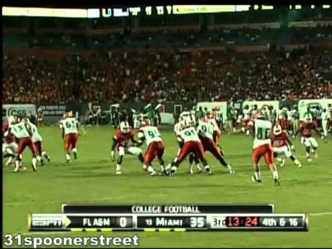 Miami Hurricanes vs Florida A&M UM-FAMU 2010