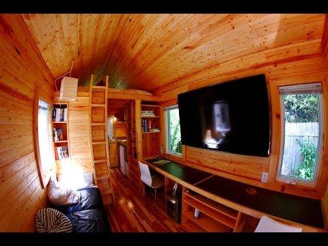 Itty Bitty House Company-Tour-Tiny/small house on wheels interior tour