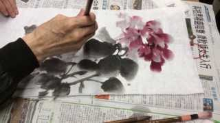 莊嘉禾老師示範水墨畫 (一) Chinese Watercolor Painting Tutorial By Mr K W Chong