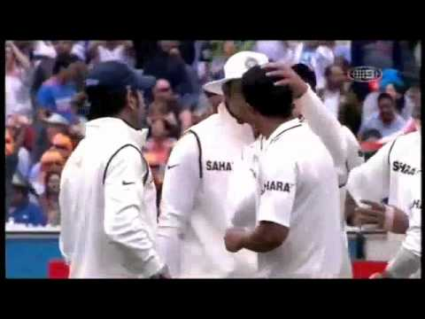 umesh yadav wickets vs australia boxing day test 2011