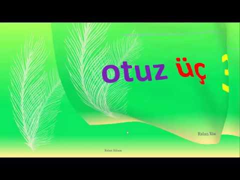 تعلم اللغة التركية (الدرس 5 من المستوى الأول A1) (الأرقام + Yok + Var)