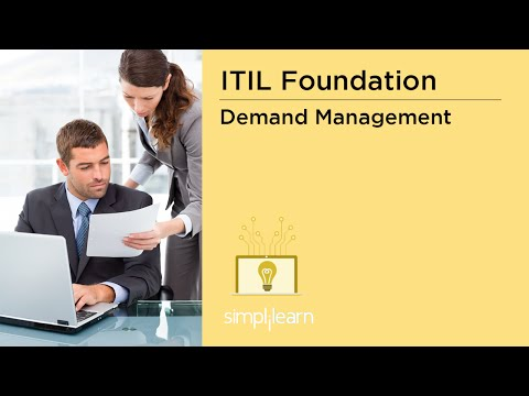 Simplilearn: ITIL Demand Management, Patterns of Business Activity (PBA), Capacity Management Plan