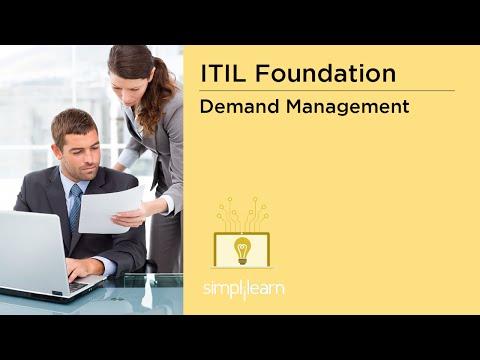 Simplilearn: ITIL Demand Management, Patterns of Business Activity (PBA), Capacity Management Plan