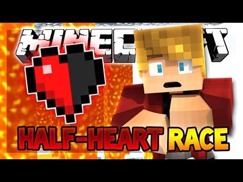 паркур карта half heart race в майнкрафт скачать #11
