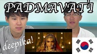 PADMAVATI | Deepika Padukone | Shahid Kapoor | Ranveer Singh | Trailer Korean(코리안) Reaction