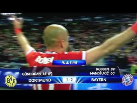 GNS Sport: Bayern Munich vs Dourtmund UEFA Champions League Final Goals 2-1